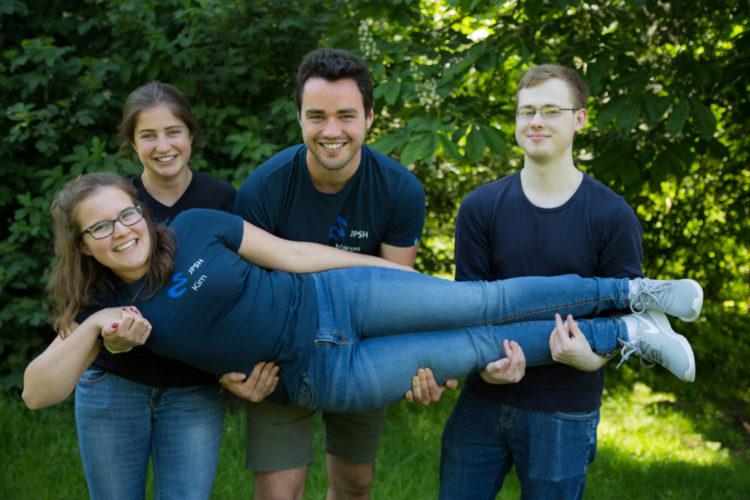 Teamfoto Jugendpresse Schleswig-Holstein